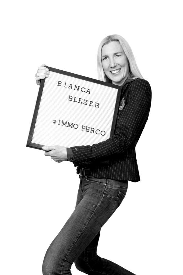 BIANCA BLEZER